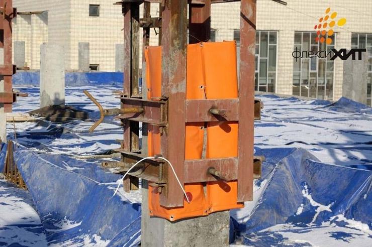 Поверхностный прогрев бетона