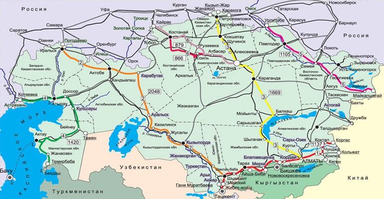 Казахстана проходит 6